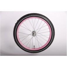 18 inch voorwiel roze - 639