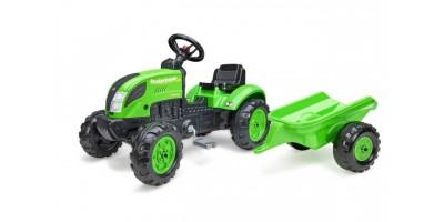 Falk Country Farmer - Jongens - Groen - Traptractor - 2057L