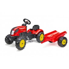 Falk Country Farmer - Jongens - Rood - Traptractor - 2058L