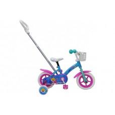Baby Shark Kinderfiets - Unisex - 10 inch - Roze Blauw - 21052