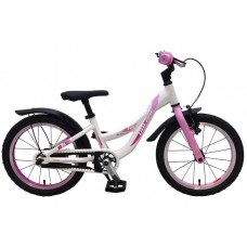 Volare Glamour Kinderfiets - Meisjes - 16 inch - Parelmoer Roze - Prime Collection - 21677