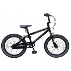 Volare Cool Rider Kinderfiets - Jongens - 18 inch - Zwart - twee handremmen - 95% afgemonteerd - Prime Collection - 21878