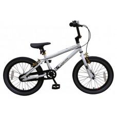 Volare Cool Rider Kinderfiets - Jongens - 18 inch - Wit - twee handremmen - 95% afgemonteerd - Prime Collection - 21879