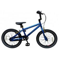Volare Cool Rider Kinderfiets - Jongens - 18 inch - Blauw - twee handremmen - 95% afgemonteerd - Prime Collection - 21880