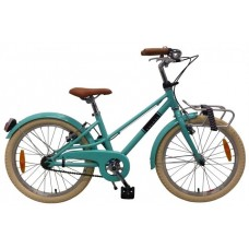 Volare Melody Kinderfiets - Meisjes - 20 inch - Turquoise - Twee Handremmen - Prime Collection - 22077