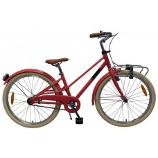 Volare Melody Kinderfiets - Meisjes - 24 inch - Pastel Rood - Prime Collection - 22470
