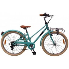 Volare Melody Kinderfiets - Meisjes - 24 inch - Turquoise - 6 speed - Prime Collection - 22474