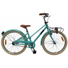 Volare Melody Kinderfiets - Meisjes - 24 inch - Turquoise - Prime Collection - 22475
