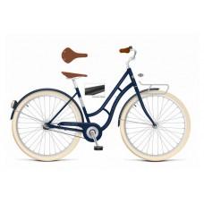 Volare Lifestyle Damesfiets - Vrouwen - 48 centimeter - Jeans Blauw - Shimano Nexus 3 versnellingen - 22810