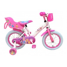 Disney Princess 14 inch meisjesfiets met twee handremmen - 31406-DC-IT