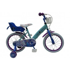 Disney Frozen 16 inch meisjesfiets 2 handremmen - 51661-CH-IT
