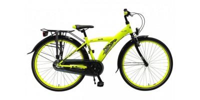 Volare Thombike City Shimano Nexus 3 26 inch jongensfiets Neon Yellow Black 95% afgemonteerd - 82647