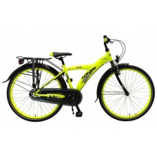 Volare Thombike City 26 inch jongensfiets Neon Yellow Black 95% afgemonteerd - 82646