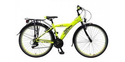 Volare Thombike City Shimano 21 speed 26 inch jongensfiets Neon Yellow Black 95% afgemonteerd - 82648