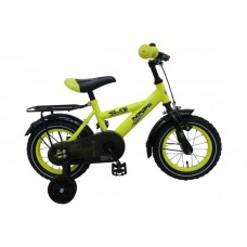 Volare Thombike Neon Geel 12 inch jongensfiets 95% afgemonteerd - 91201