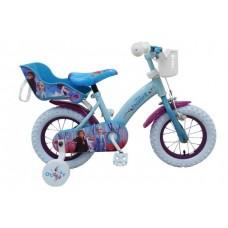 Disney Frozen 2 Kinderfiets - Meisjes - 12 inch - Blauw/Paars - 91250-CH