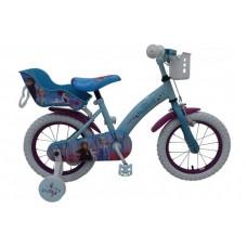 Disney Frozen 2 Kinderfiets - Meisjes - 14 inch - Blauw/Paars - 91450-CH