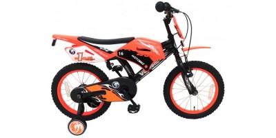Volare Motorbike 16 inch jongensfiets met twee handremmen - 91614-IT