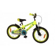 Volare Electric Neon Kinderfiets - Jongens - 16 inch - Geel - 91632-RF