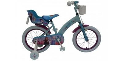 Disney Frozen 2 - Kinderfiets - Meisjes - 16 inch - Blauw/Paars - 91650-CH