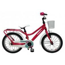 Volare Brilliant Kinderfiets - Meisjes - 16 inch - Roze - 95% afgemonteerd - 91662