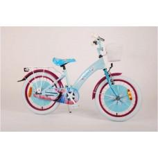 Disney Frozen 2 Kinderfiets - Meisjes - 18 inch - Blauw/Paars - 95% afgemonteerd - 91850