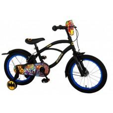 Batman Kinderfiets - Jongens - 16 inch - Zwart - 2 handremmen - 81634-IT