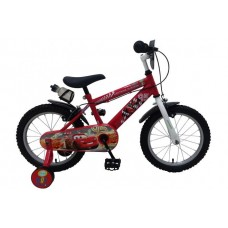Disney Cars 16 inch jongensfiets met 2 handremmen - 11648-CH-IT