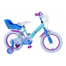 Disney Frozen 14 inch meisjesfiets 2 handremmen - 51461-CH-IT