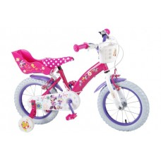 Disney Minnie Bow-Tique 14 inch meisjesfiets met twee handremmen - 31426-CH-IT