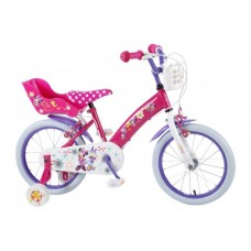 Disney Minnie Bow-Tique 16 inch meisjesfiets 2 handremmen - 31626-CH-IT