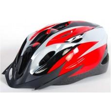 Salutoni Volwassene Fiets/Skate Helm Rood 55-59 cm - 812
