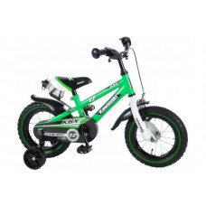 Kawasaki 12 inch jongensfiets 95% afgemonteerd - 81230