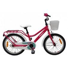 Volare Brilliant Kinderfiets - Meisjes - 18 inch - Roze - 95% afgemonteerd - 91862