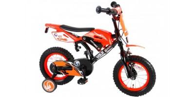 Volare Motorbike 12 inch jongensfiets met twee handremmen - 91214-CH-IT